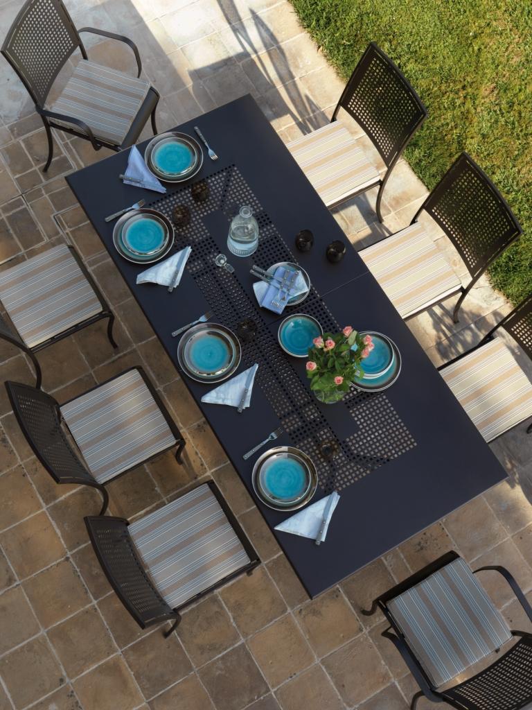 Tavolo valentino allungabile va4300   casa del bambù