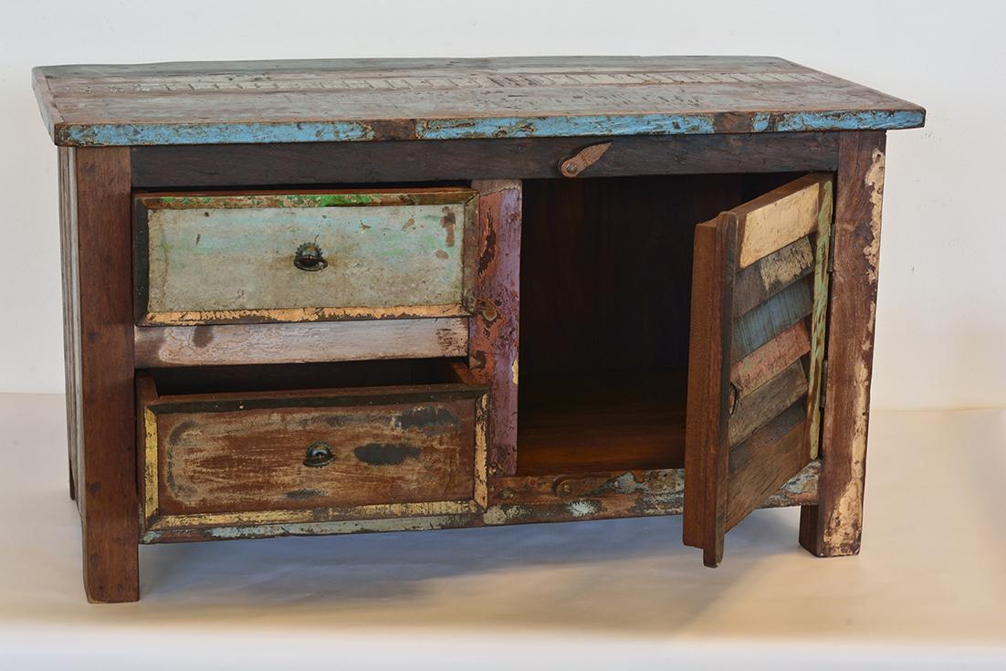 Porta TV Vintage - Casa del Bambù