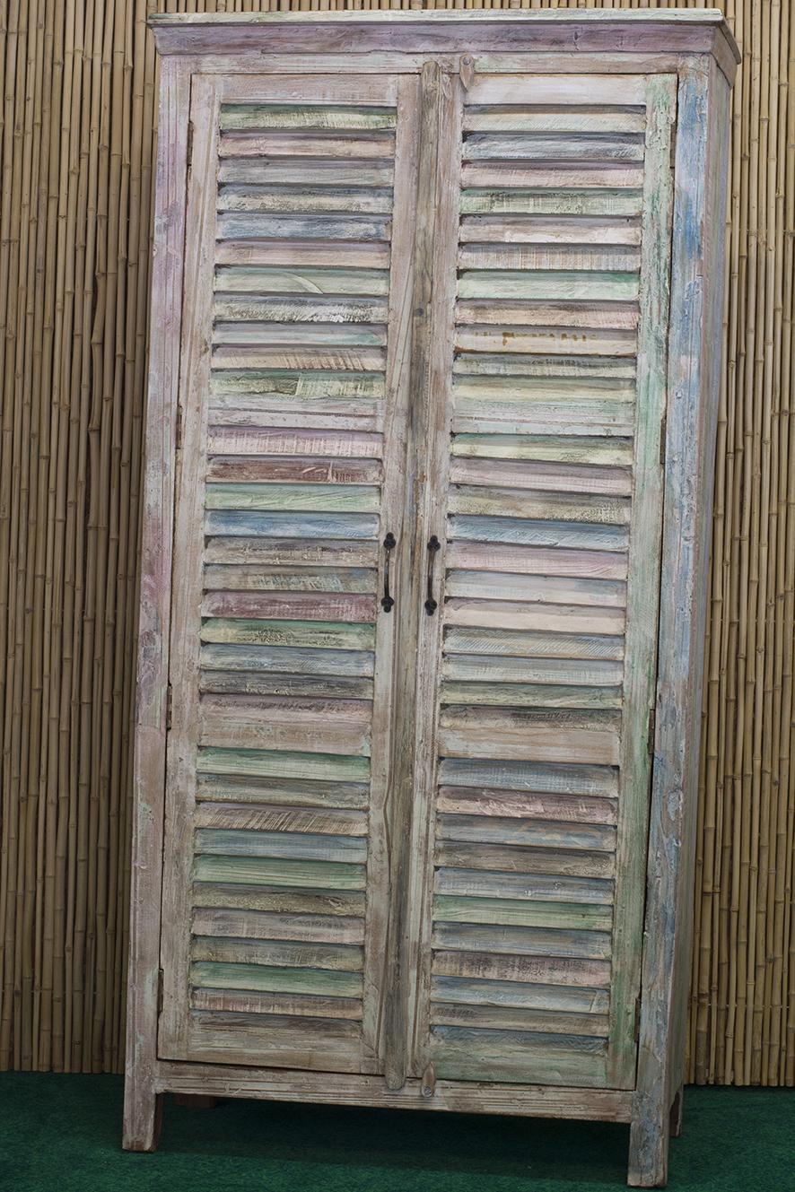 Armadietto persiane casa del bamb - Armadietto legno per esterno ...