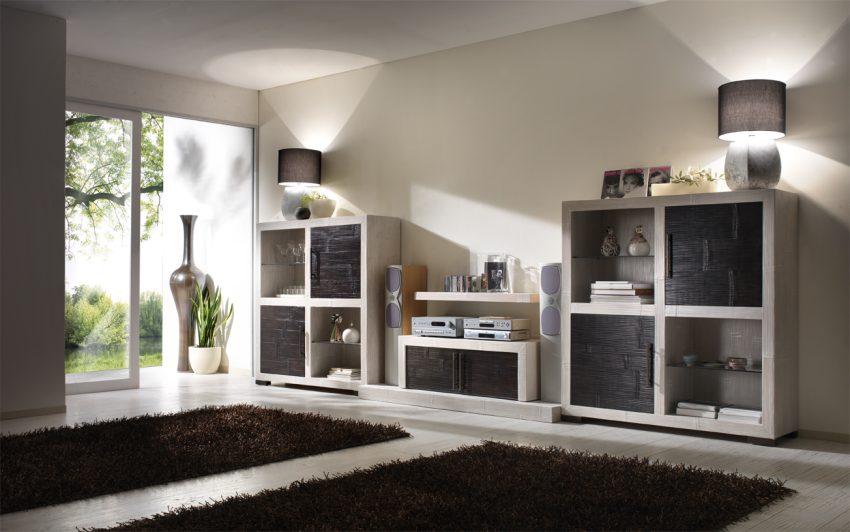 Composizione luxor diamante casa del bamb for Mobili moderni per sala da pranzo