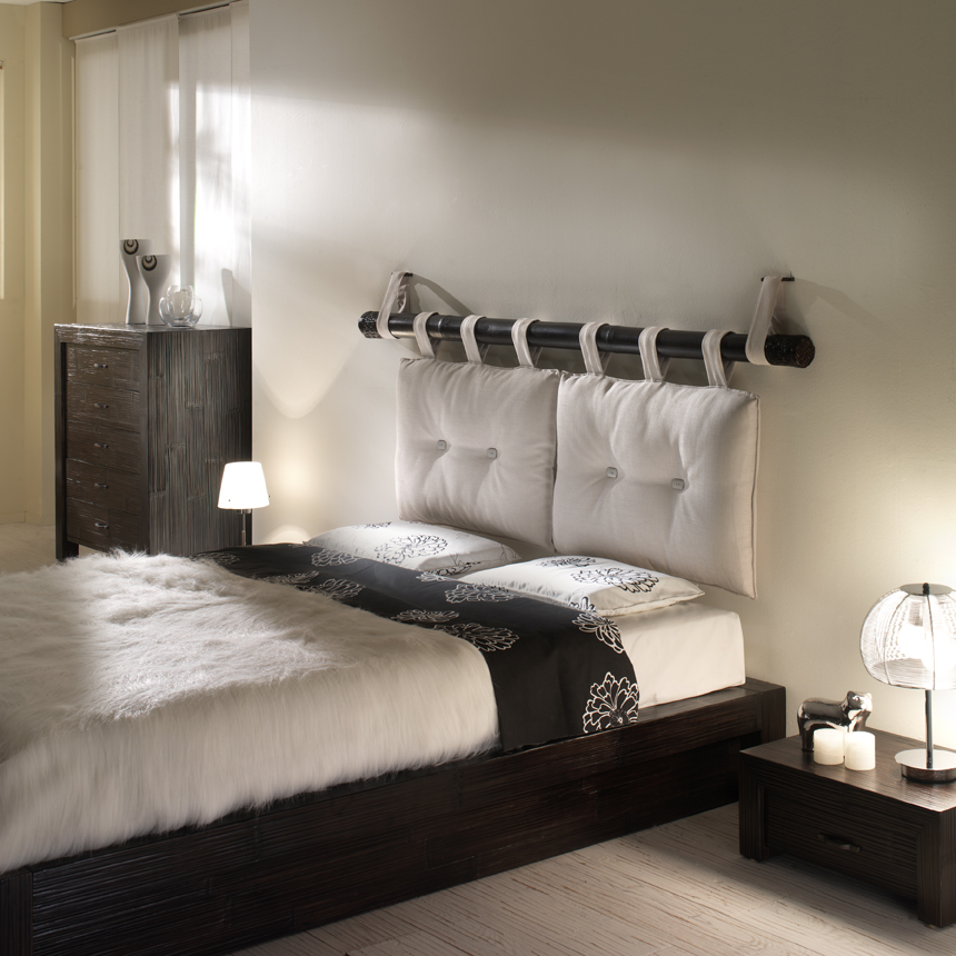 Essential bandung alta casa del bamb - Testiera letto a muro ...