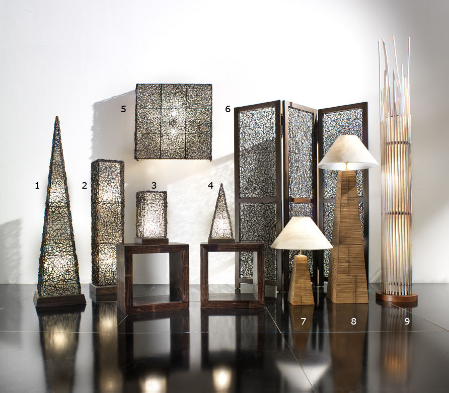Lampade a stelo e aplique - Casa del Bambù