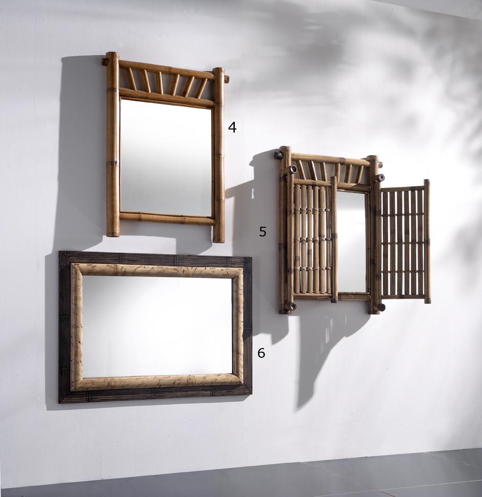 Specchi bamb rumba casa del bamb - Specchi per salotto ...