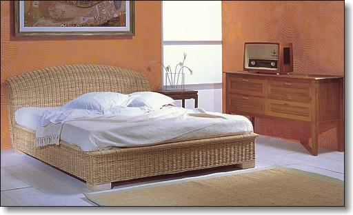 Retr casa del bamb - Letto matrimoniale 200x200 ...