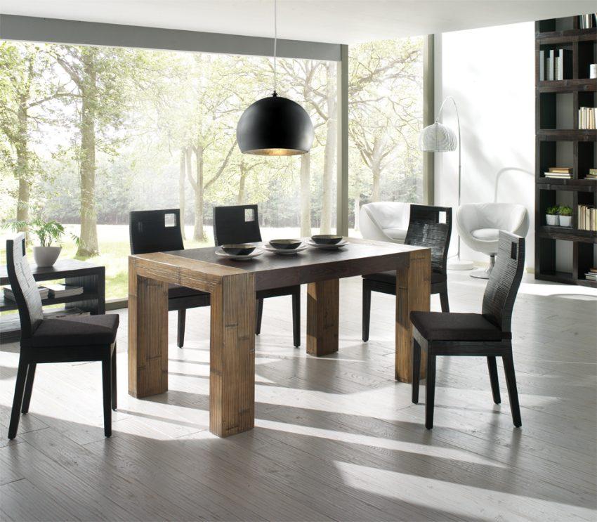 Tavolo stone casa del bamb for Tavoli per sala da pranzo moderni