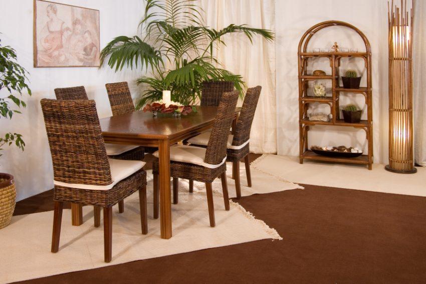 Soggiorno trf190 sedia valencia casa del bamb for Tavolo con sedie soggiorno