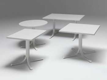 Table System Bordo Squadrato