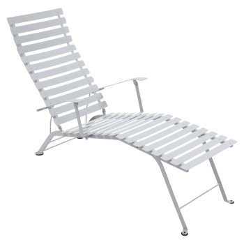 Chaise Longue Metal Bistro